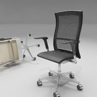 3d model of life chair knoll