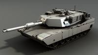 m1a2 sep abrams tank 3d obj