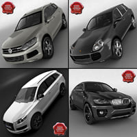 3d model suvs v3