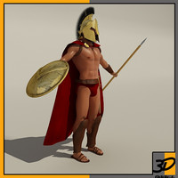 3d king sparta