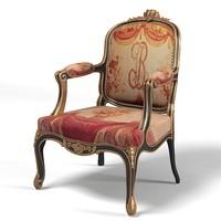 3d model classic empire luxury