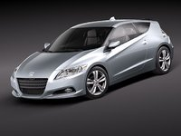 honda crz cr-z 3d model