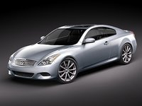 infiniti g37 coupe 3d max