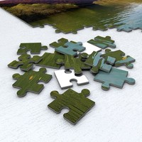 3d model 200 piece jigsaw puzzle