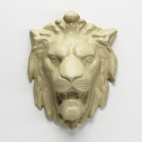 lion interior decorating 3d model