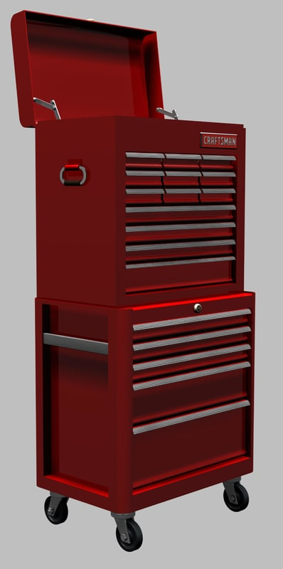 Tool Box 3d 3ds