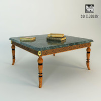 3ds max francesco molon table