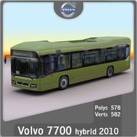 3d model 2010 7700 hybrid