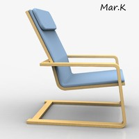 chair pello 3d model