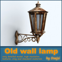 Old wall lamp