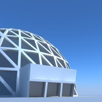 Geodesic Dome Building