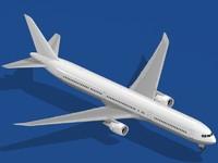 b 767-400 er airliner 3ds