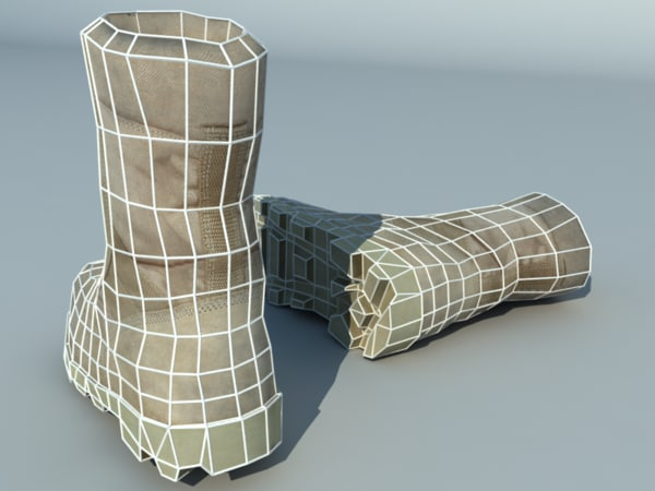 3d model ready boot 01 - Boot 01... by Pinelas