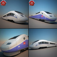 High-Speed Trains Collection V1