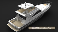 70' Sport Fisher Motor Yacht Polygons