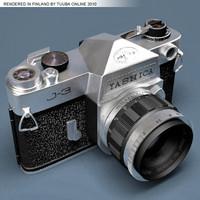 3d model yashica j3 blender -
