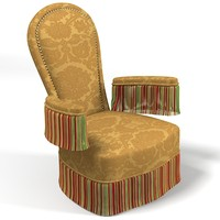 x classic armchair fringe