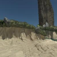 3dsmax cliffs 1