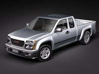 GMC Canyon 2004-2010 extended cab