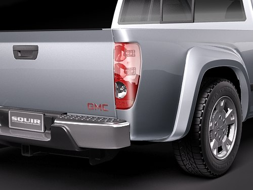 3d gmc canyon 2004 2010 - GMC Canyon 2004-2010 extended cab... by squir