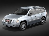 3d model gmc envoy suv