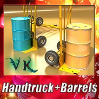 max hand truck 2 barrels