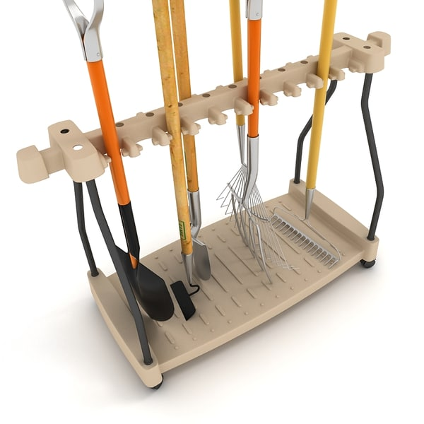 Fbx garden tool rack for Gardening tools organizer