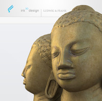 3d model hindu buddha statue