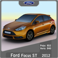 2012 focus st 3d model