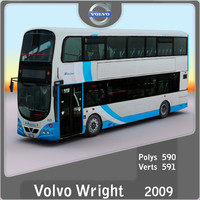 3d model 2009 wright