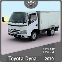 3d model 2010 toyota dyna 2009