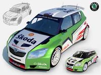 Skoda Fabia S2000 WRC