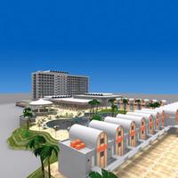 hotel 06 3d max