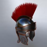 3d ma roman helmet