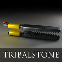 free alligator 3d model