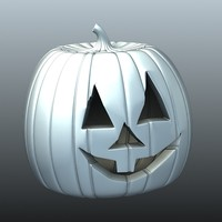 pumpkin decorations halloween 3d model