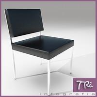 3d max chair minimal