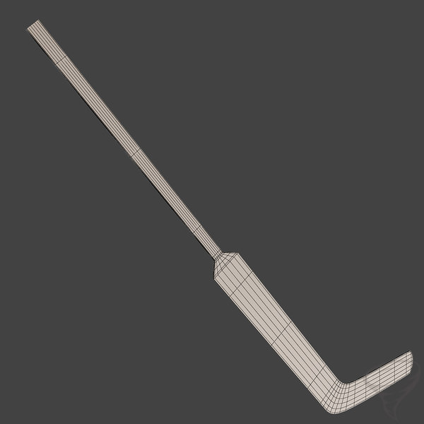 3ds max ice hockey sticks - Ice Hockey Sticks... by Tornado Studio