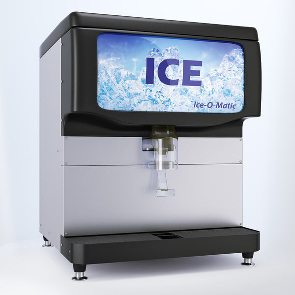 max countertop ice dispenser ice o matic