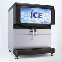 max countertop ice dispenser ice-o-matic