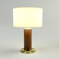 3d model of table lamp materials