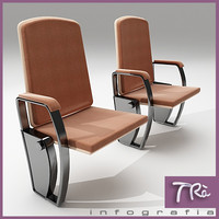 3d max theater armchairs