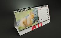 calendar 3d 3ds