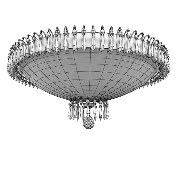 3d james r moder - james r moder 38308 prestige classic crystal wide ceiling ... by archstyle