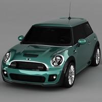 3d mini cooper model