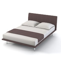 Orizonti modern contemporary bed double