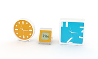 3d model clocks alarm decoration