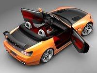 3d model honda s2000 sport tuning