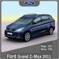 3d model 2011 grand c-max