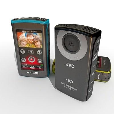 JVC Picsio Full-HD Camcorder GC-WP10